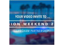 Langham Vision Weekend 2016